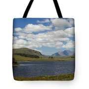 An Teallach From Loch Droma Tote Bag