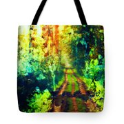 An Uncertain Path Tote Bag