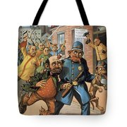 An Uprising In China Tote Bag
