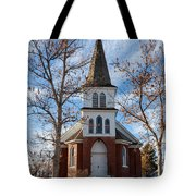 Anaconda Christian Church Tote Bag