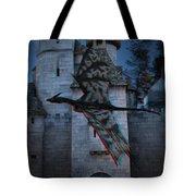 Anaglyph Dragon Tote Bag