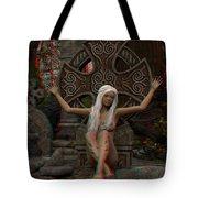 Anaglyph Elfa Tote Bag