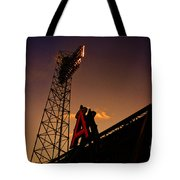 Anaheim Angels Sunset  Tote Bag