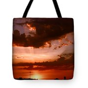 Anaheim Sunset Tote Bag