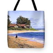 Anahola Beach Kauai Tote Bag