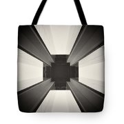 Analog Photography - Berlin Abstract Architecture Tote Bag