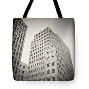 Analog Photography - Berlin Beisheim Center Tote Bag