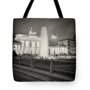 Analog Photography - Berlin Pariser Platz Tote Bag