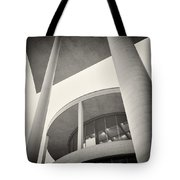 Analog Photography - Berlin Paul-loebe-haus Tote Bag