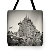 Analog Photography - Chateau Frontenac Quebec Tote Bag