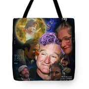 Analysis Of Robin's Head Tote Bag