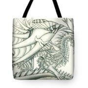 Anare'il The Chaos Dragon Tote Bag