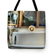 Anastasia Boating On Lake Erie Tote Bag