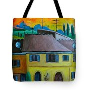 Ancient Volterra Wired Tote Bag