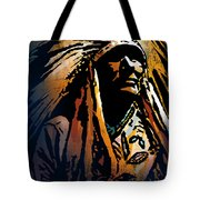 Ancestral Light Tote Bag