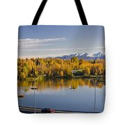 Anchorage And Westchester Pano Tote Bag