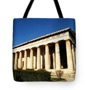 Ancient Agora Temple Of Hephaestus 3 Tote Bag