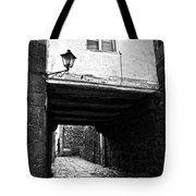 Ancient Alley In Tui Bw Tote Bag