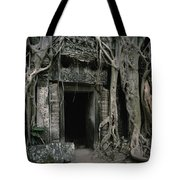 Ancient Angkor Tote Bag by Shaun Higson