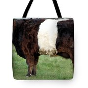 Ancient Breed Belted Galloway Tote Bag