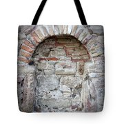 Ancient Bricked Up Window  Tote Bag