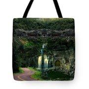 Ancient Caves And Nature Tote Bag