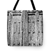 Ancient Church Door Tote Bag