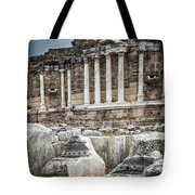Ancient Fountain Tote Bag