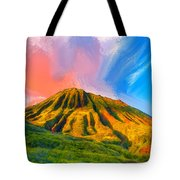 Ancient Hawaii Lava Flow Tote Bag