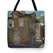 Ancient House In Perast Tote Bag