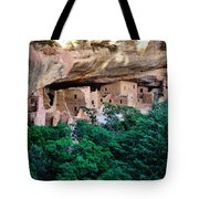 Ancient Houses Tote Bag