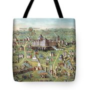 Ancient Jerusalem Tote Bag