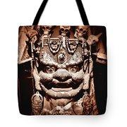 Ancient Mask Tote Bag