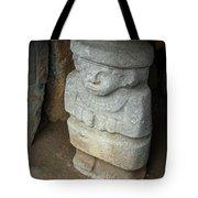 Ancient Pre-columbian Statue Tote Bag