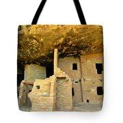 Ancient Pueblo Dwelling Ruins Tote Bag
