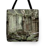 Ancient Ruins Cambodia Tote Bag