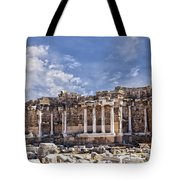 Ancient Ruins In Side Turkey Tote Bag