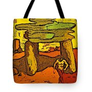Ancient Sand Painting Tote Bag