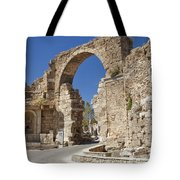 Ancient Side Entrance Gate Tote Bag