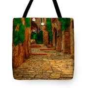 Ancient Street Tote Bag