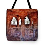 Ancient Stone Temple At Amarkantak India Tote Bag