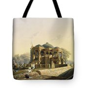 Ancient Temple At Hulwud, From Volume I Tote Bag