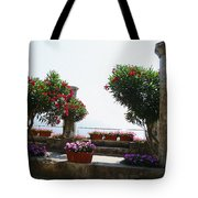 Ancient Town Of Ravello Italy Tote Bag