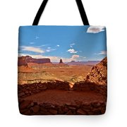 Ancient Viewpoint Tote Bag