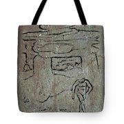 Ancient Wall Art Tote Bag