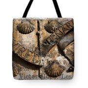 Ancient Wall With Hugo Tote Bag