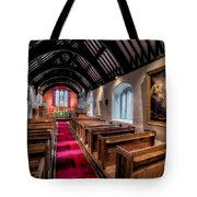Ancient Welsh Church Tote Bag by Adrian Evans