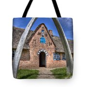 Ancient Whale's Jawbones Gate Tote Bag