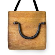 Ancient Wood Box With Handle Tote Bag