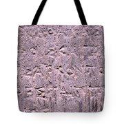 Ancient Writings Tote Bag